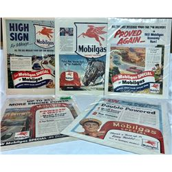 GR OF 5, IMPERIAL'S MOBILGAS, 1954 SATURDAY EVENING POST ADS