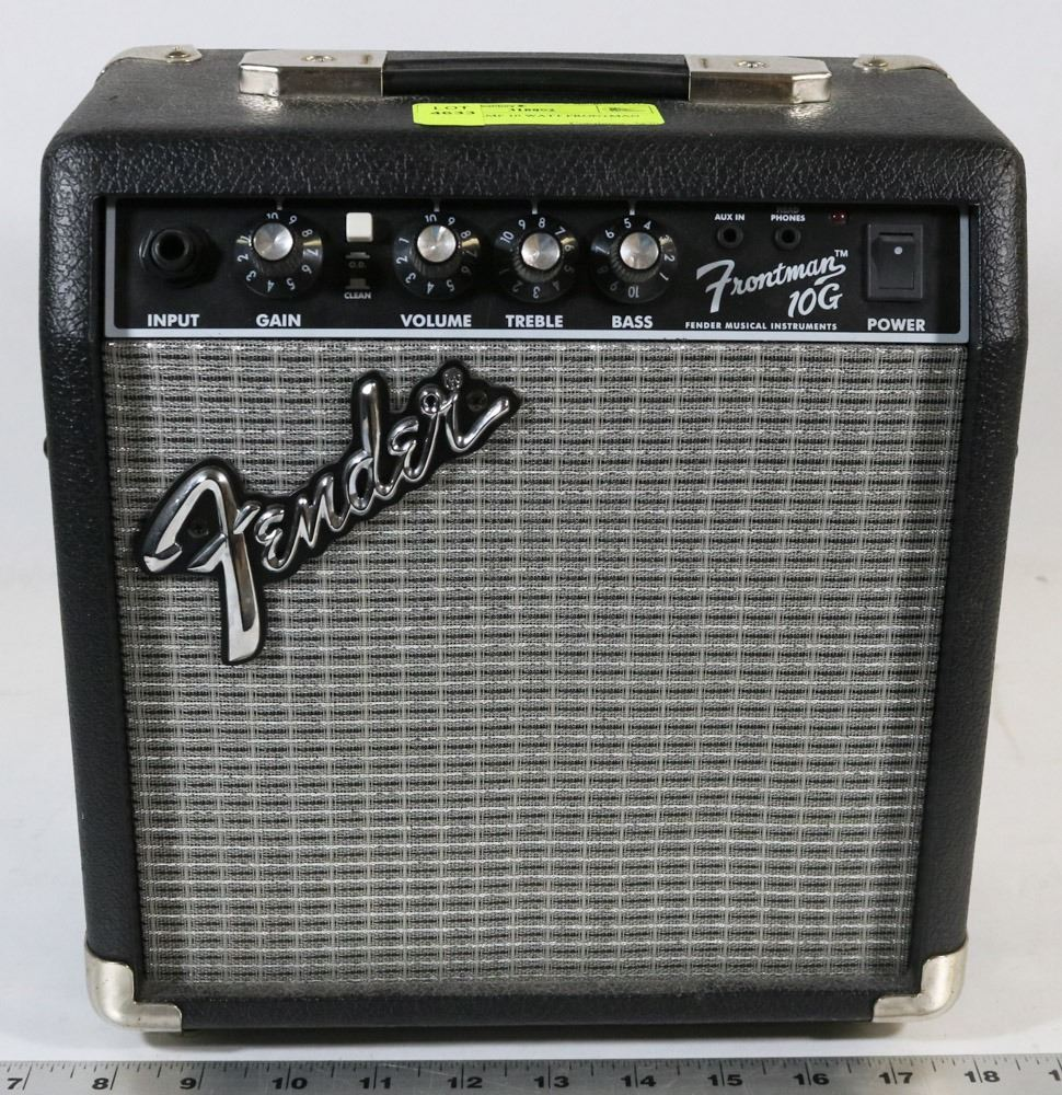 Fender Amp 10 Watt Frontman Power Amplifier
