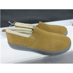 New Mossimo Slippers Genuine Suede non marking sole size 11