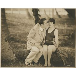 Louise Brooks custom photograph from It's the Old Army Game.