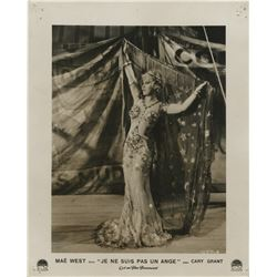 Mae West (12) oversize photographs from the French release of I'm No Angel.