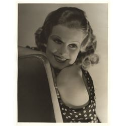 Jean Harlow oversize portrait photograph from Red-Headed Woman by George Hurrell.