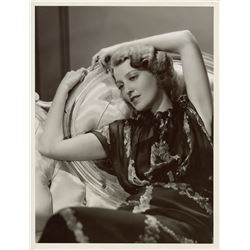 Jeanette MacDonald oversize portrait photograph for Maytime by Clarence Sinclair Bull.