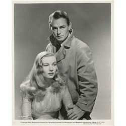Veronica Lake and Alan Ladd (4) photographs for This Gun for Hire.