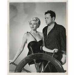 Orson Welles and Rita Hayworth (6) photographs for The Lady from Shanghai.