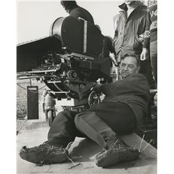 Doctor Zhivago (10) behind-the-scenes and special portrait photos, including David Lean directing.