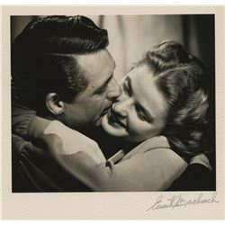 Cary Grant and Ingrid Bergman (4) exhibition photographs by Ernest A. Bachrach.
