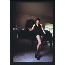 Liza Minnelli (40+) performance and candid color transparencies by Alan Pappé.