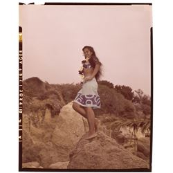 Tarita (10) special color transparencies of the young Polynesian actress from Mutiny on the Bounty.
