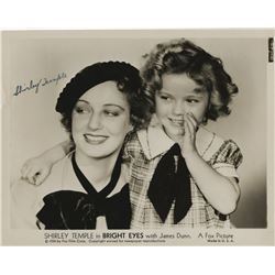 Shirley Temple signed photograph from Bright Eyes.