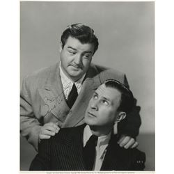 Bud Abbott and Lou Costello signed photograph by Ray Jones.