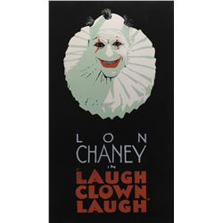 Laugh Clown Laugh signed limited edition serigraph by Batiste Madalena.