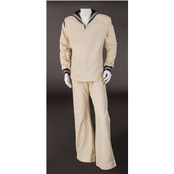 """Fred Astaire """"Bake Baker"""" sailor suit from Follow the Fleet."""