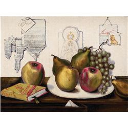 Orry-Kelly still life and Louisiana cityscape paintings from the estate of Louella Parsons.