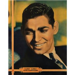 Clark Gable MGM personality poster.