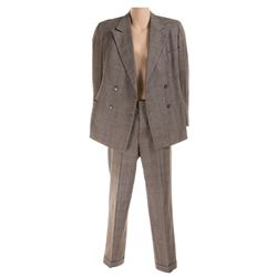 """W.C. Fields """"Ambrose Wolfinger"""" 2-piece suit from Man on the Flying Trapeze."""