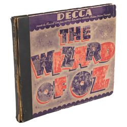 The Wizard of OzDecca 4-78-RPM record set inscribed by composer Harold Arlen to his brother.