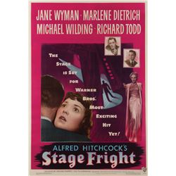 Stage Fright 1-sheet poster.