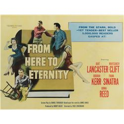 From Here to Eternity half-sheet poster.