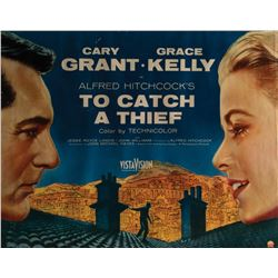 To Catch a Thief half-sheet poster.