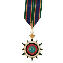 Audie Murphy personal Military Order of the Ardennes, Grand Cross of Homage for Battle of the Bulge.