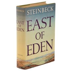 John Steinbeck's East of Eden first edition signed by the cast of the classic film.