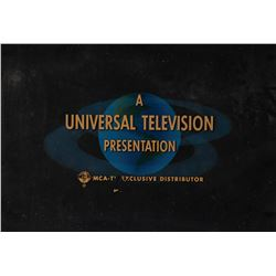 Universal Television end credit title art.