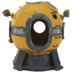 """Voyage to the Bottom of the Sea miniature """"Apple One"""" diving bell."""