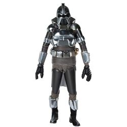Battlestar Galactica complete Cylon costume and display.