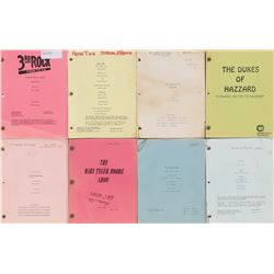 Classic and contemporary TV (8) scripts including 3rd Rock From the Sun,Star Trek DS9 and more.