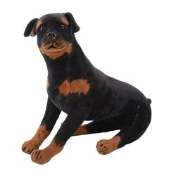 Damien screen used prop Rottweiler.