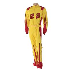 Guest star Joey Logano NASCAR race suit from Lab Rats.