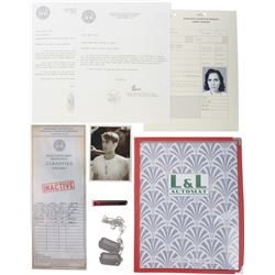 "Agent Carter (10+) screen-used props and ephemera including prop vial of ""Steve Rogers"" blood."