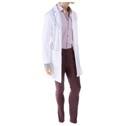 "John Stamos ""Dr. Brock Holt"" lab coat & outfit from Scream Queens."