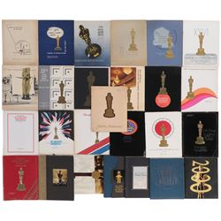 Collection of (75+) Academy Award show programs and other show ephemera.