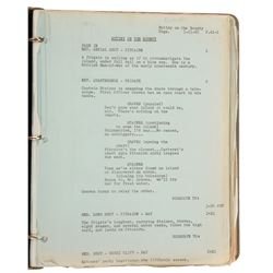 Mutiny On The Bounty script by Charles Nordoff and James Norman Hall.