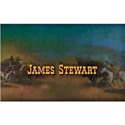 James Stewart credit art fromHow the West Was Won.