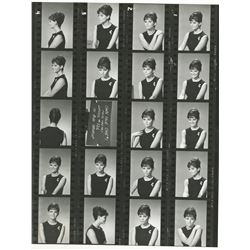 Bud Westmore makeup tests and Claudia Cardinale wardrobe tests (50+) photographs.