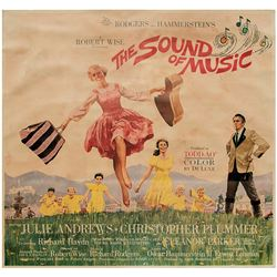 The Sound of Music 6-sheet poster.