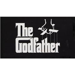 The Godfather original theatrical trailer title art.