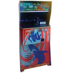 Killer Shark arcade game used in Jaws.