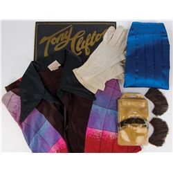 """Andy Kaufman """"Tony Clifton"""" costume and makeup archive."""