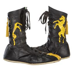 """Sylvester Stallone """"Rocky"""" boxing boots from Rocky II."""