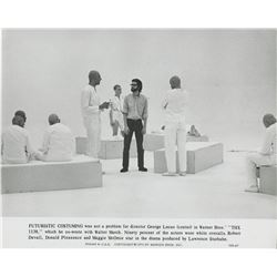 George Lucas (25) photographs from THX 1138.