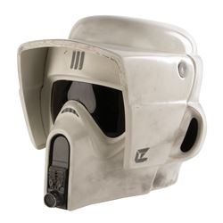 Imperial Scout Trooper production made helmet from Star Wars: Episode VI - Return of the Jedi.