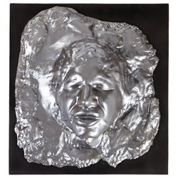 "Harrison Ford ""Han Solo"" in Carbonite test bust from Star Wars: Episode V - The Empire Strikes Back."