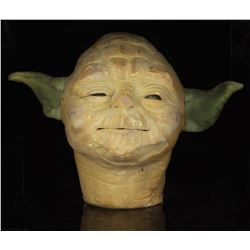 """Yoda"" head created in 1986 by ILM creature shop."