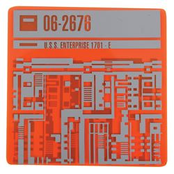 U.S.S. Enterprise 1701-E Isolinear chip from Star Trek: First Contact.