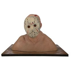 "Friday the 13th Part III makeup effects lab office ""Jason Vorhees"" display bust."