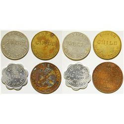 Bryan Motor Court and other Tokens